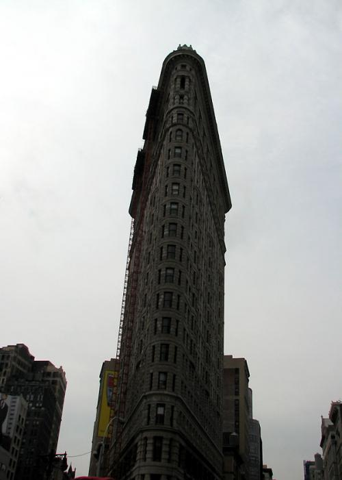 World Travel Photos :: Landmarks around the world :: New York City. Flatiron Bilding