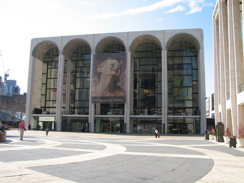 World Travel Photos :: The most famous buildings  :: New York City. Metropolitan Opera Building