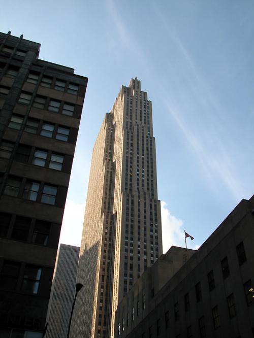 World Travel Photos :: Landmarks around the world :: New York City. Rockfeller Center