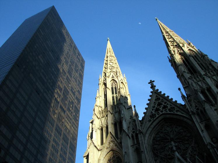 World Travel Photos :: USA - New York City :: New York City. St. Patrick´s Cathedral on 5th avenue