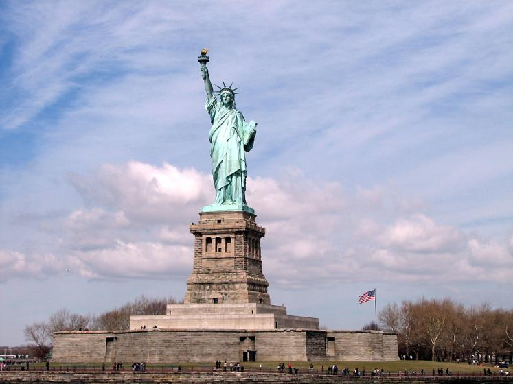 World Travel Photos :: USA - New York City :: New York City. Statue of Liberty - UNESCO World Heritage Site