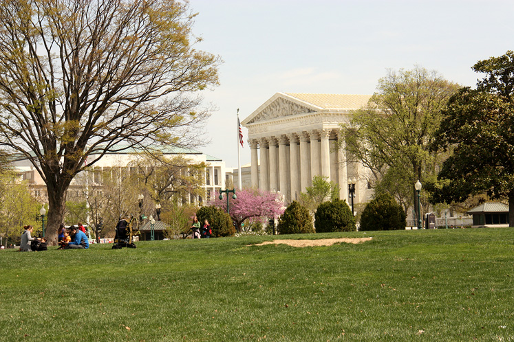 World Travel Photos :: USA - Washington, D.C. :: Washington D.C. - United States Supreme Court Building